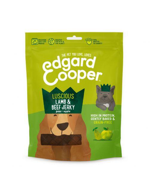 Edgard&Cooper Lamb & Beef Jerky - Hondensnacks - Lam Rund Fruit 150 g