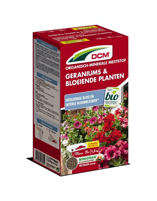Dcm Meststof Geranium Surfinia & Bloeiende Plant - Siertuinmeststoffen - 1.5 kg