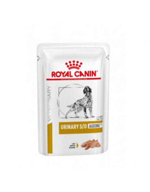 Royal Canin Veterinary Diet Urinary S/O Ageing 7+ Wet - Hondenvoer - 12x85 g