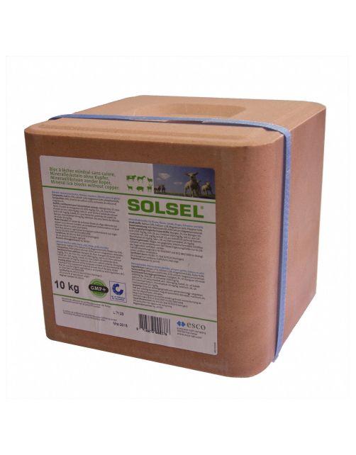 Solsel Mineralenliksteen - Supplement - 10 kg Grijs