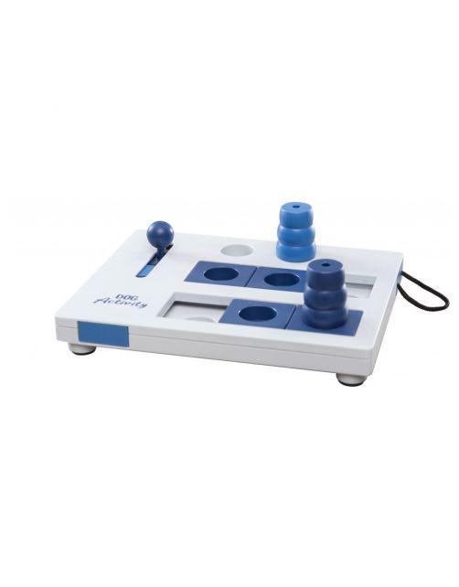 Trixie Dog Activity Mini Mover Strategiespel - Hondenspeelgoed - 25x20 cm Donkerblauw Wit Lichtblauw 1 stuk