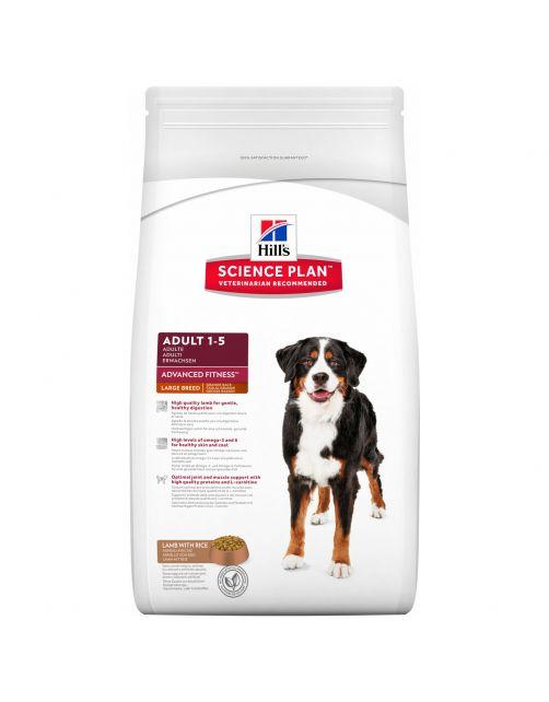 Hill's Canine Adult Large Breed - Hondenvoer - Lam Rijst 12 kg