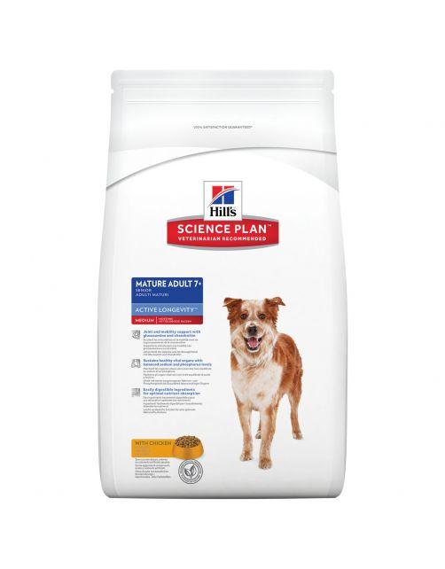 Hill's Canine Senior - Hondenvoer - Kip 12 kg