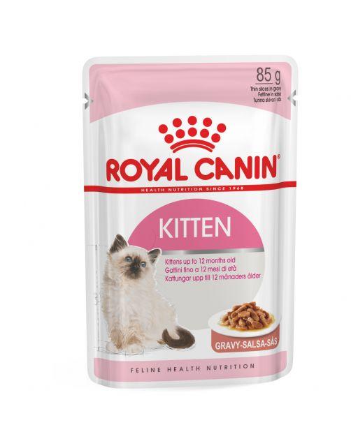 Royal Canin Kitten In Gravy - Kattenvoer - 12x85 g