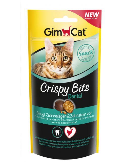 Gimcat Crispy Bits Dental - Kattensnack - 40 g