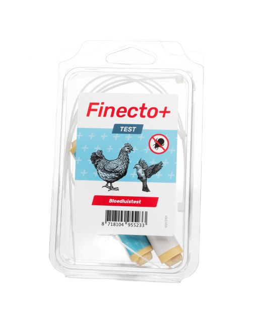 Finecto+ Test - Anti vlooien en luizenmiddel - 2 stuks