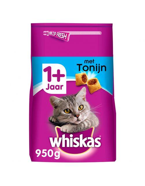 Whiskas Brokjes Adult - Kattenvoer - Tonijn 950 g