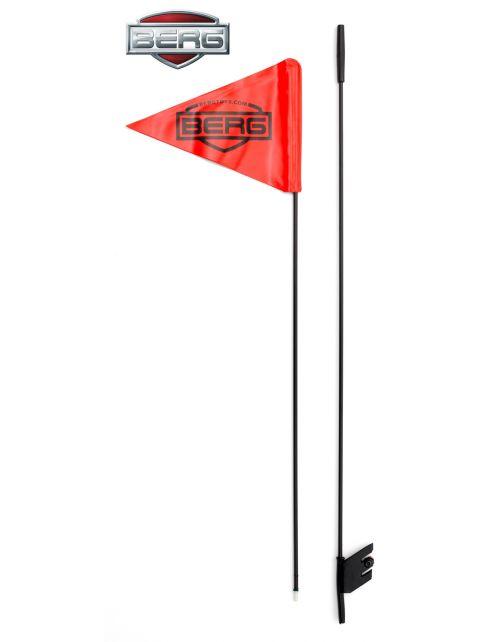 Berg Skelter Buddy Vlag - Buitenspeelgoed - Rood