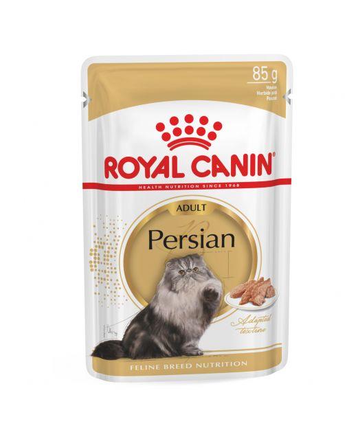 Royal Canin Persian Adult Natvoer - Kattenvoer - 12x85 g