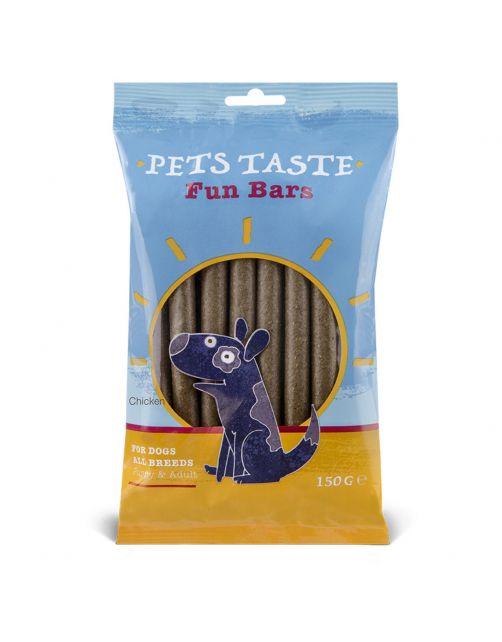 Pets Taste Rolls Kip - Hondensnacks - Kip 150 g 12 stuks