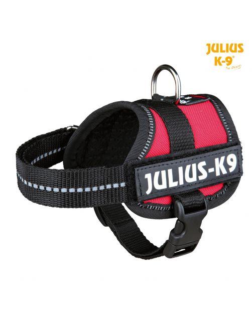 Julius-K9 Powerharness Rood - Hondenharnas