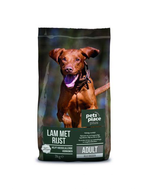 Pets Place Plus Hond Adult Lam - Hondenvoer