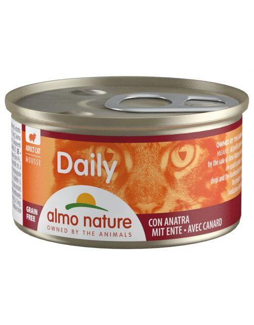 Almo Nature Cat Blik Daily Menu Mousse 85 g - Kattenvoer