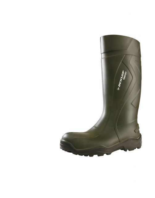Dunlop Veiligheidslaars S5 Purofort Plus Groen - Werkschoenen