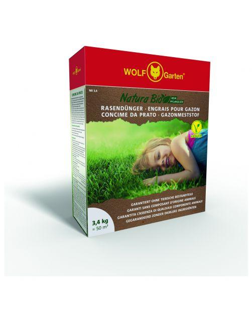 Wolf-Garten Natura Bio Gazonmest - Gazonmeststoffen