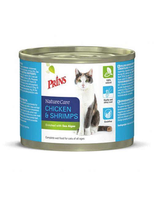 Prins Naturecare Cat 2x200 g - Kattenvoer