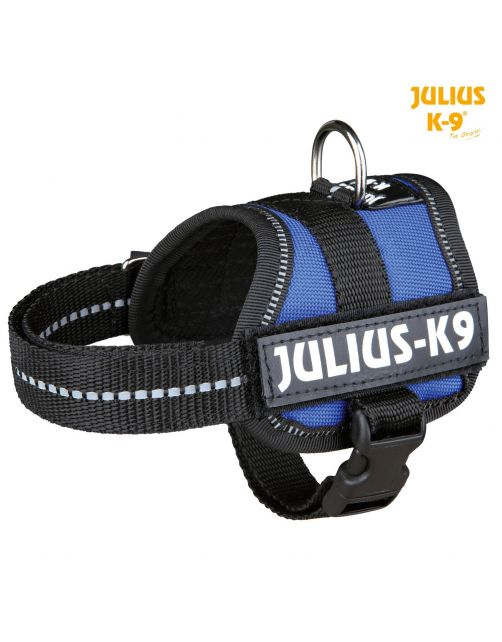 Julius-K9 Powerharness Blauw - Hondenharnas