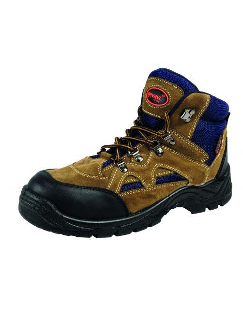 Gevavi Safety Werkschoen Worker S1p Bruin&Blauw - Werkschoenen