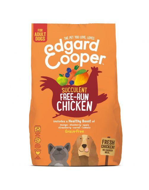 Edgard&Cooper Free-Run Chicken Adult Kip&Mango&Bessen - Hondenvoer