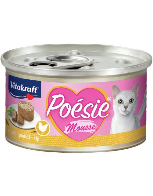 Vitakraft Poésie Mousse Blikje 85 g - Kattenvoer