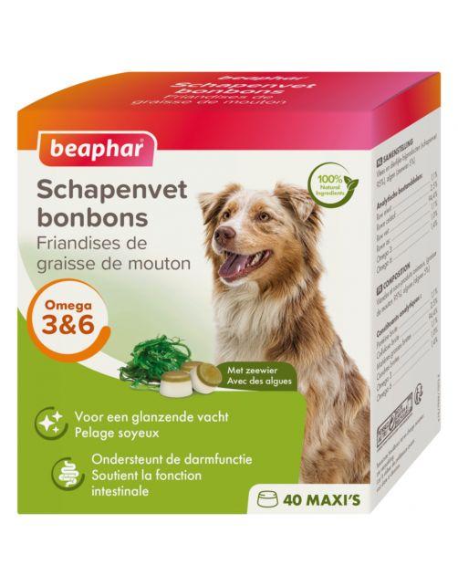 Beaphar Schapenvetbonbons Zeewier - Hondensnacks