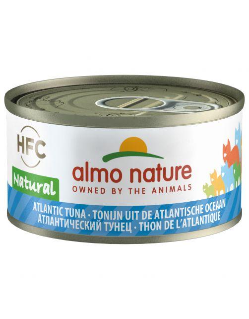 Almo Nature Hfc Cat Natural Blik 70 g - Kattenvoer