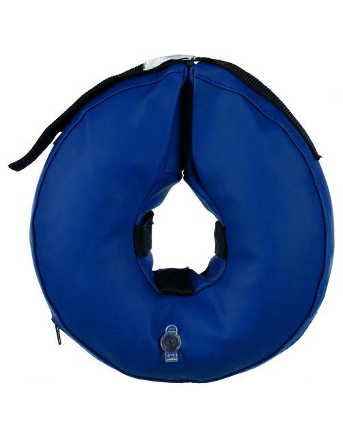Trixie Beschermkraag Opblaasbaar Blauw - Beschermnekkraag