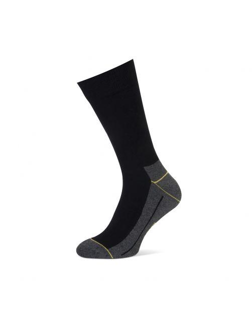 Stapp Yellow Herensok Walker Coolmax Zwart - Sokken