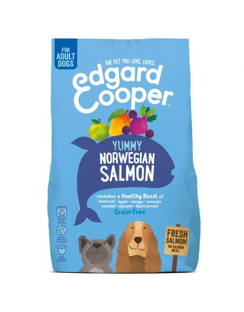 Edgard&Cooper Yummy Norwegian Salmon Adult Zalm&Rode Biet&Appel - Hondenvoer