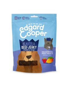 Edgard&Cooper Beef Jerky - Hondensnacks - Rund Aardbei Mango 150 g