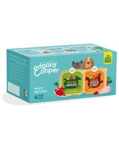 Edgard&Cooper Kuipjes Multipack Adult Chicken Lamb - Hondenvoer - Kip Lam 4x300 g
