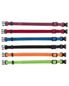 Trixie Set  6x Puppyhalsbanden S-M - Hondenhalsband - 17–25/1 cm Multi-Color