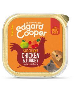 Edgard&Cooper Kuipje Chicken Turkey Adult - Hondenvoer