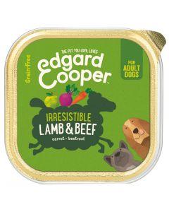 Edgard&Cooper Kuipje Lamb Beef Adult - Hondenvoer
