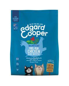 Edgard&Cooper Senior Kip&Witvis - Kattenvoer