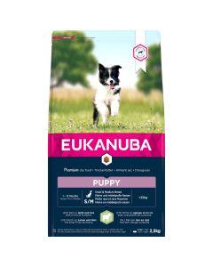 Eukanuba Puppy Small & Medium Breed Lam - Hondenvoer