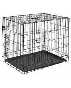 Homestyle Bench 2-Deurs Zwart - Hondenbench