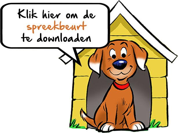 Speekbeurt downloaden hond in hondenhok